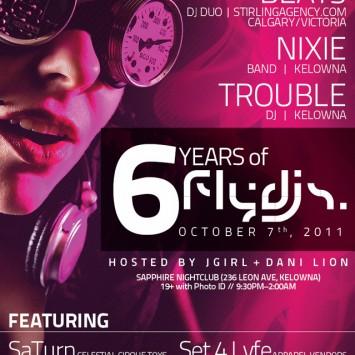 Fly DJs 6 Poster