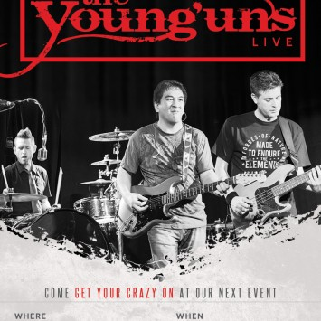 The Young'uns Gig Poster